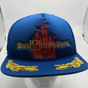 Vintage Walt Disney World trucker hat